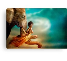 In You I Trust Canvas Print