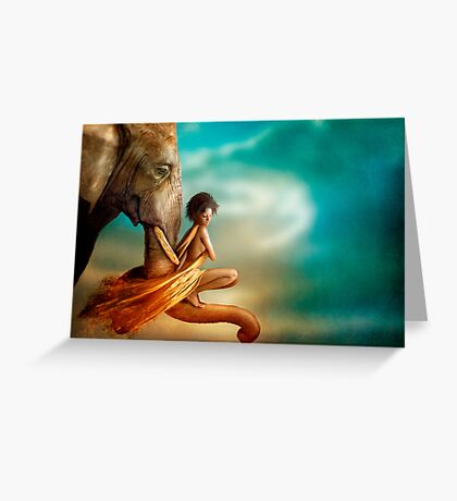In You I Trust Greeting Card
