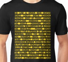 Crime Shows Police Tape Unisex T-Shirt