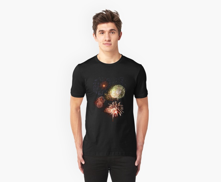 Firework Display t-shirt by tdoes