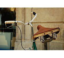 asiento trasero Photographic Print