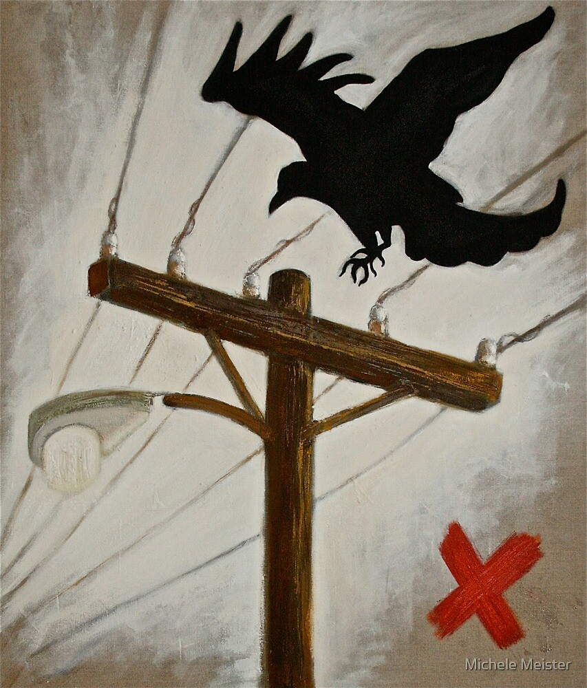 'Crow' by Michele Meister