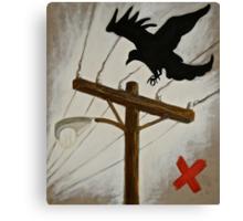 'Crow' Canvas Print