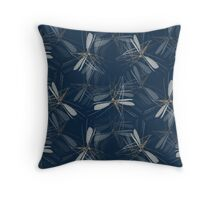 Insect textile design Throw Pillow