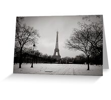 A Glimpse of Paris Greeting Card