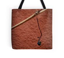 Grape on House Wall Tote Bag