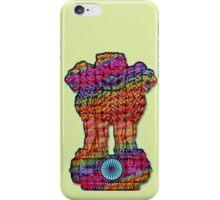 India emblem  hippie iPhone Case/Skin