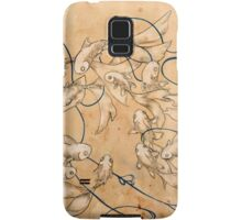 Twirl and Loop Samsung Galaxy Case/Skin