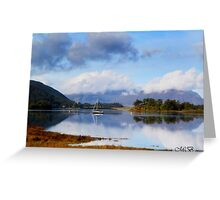 Loch Leven in September Greeting Card