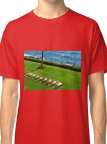Chairs on the Beach Classic T-Shirt
