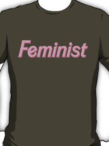 feminist barbie pink T-Shirt