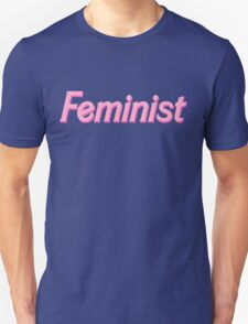 feminist barbie pink T-Shirt