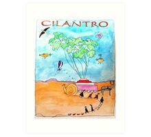 Cilantro Art Print