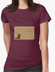 Into The Wild - Minimalist Movie Poster Womens Fitted T-Shirt