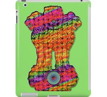 India emblem psychedelic iPad Case/Skin