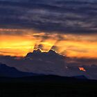 A Waterton Sunset by Vickie Emms