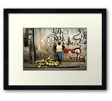 People 7478 (Salvador, Brasil) Framed Print