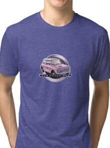 Mini pink Tri-blend T-Shirt