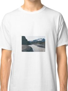 Mountain and stream  Classic T-Shirt