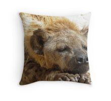 hyena (no laughing matter) Throw Pillow