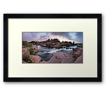 Waterfall Tokivskyi Framed Print