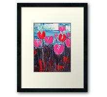 Tulip Landscape Framed Print