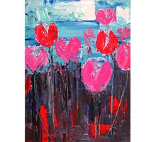 Tulip Landscape Photographic Print
