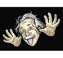 Albert Einstein parody Photographic Print