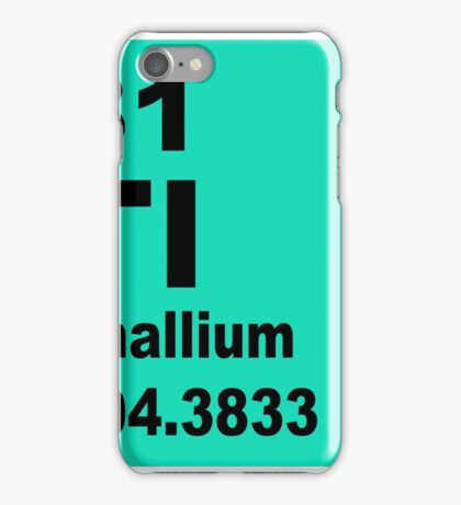 Thallium Periodic Table of Elements iPhone Case/Skin