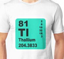 Thallium Periodic Table of Elements Unisex T-Shirt