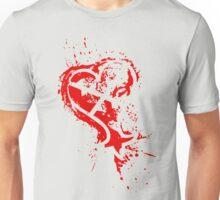 Heartless Splatter Unisex T-Shirt