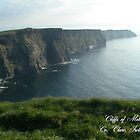 Cliffs of Moher by greg fitzgerald