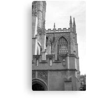 Bath England Abbey 2010 Canvas Print