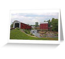 Bridgeton, Indiana Greeting Card