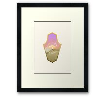 Mirror, mirror, where are you? Second destination Framed Print