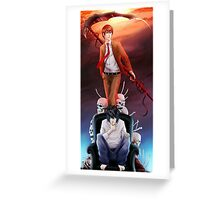 Death Note iPhone Case  Greeting Card