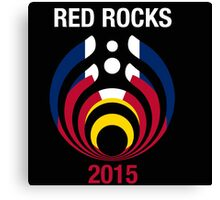 Bassnectar Red Rocks New 2015 Canvas Print