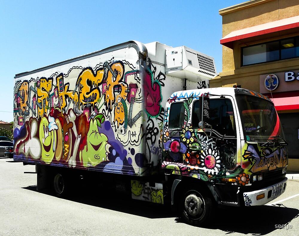 Have Graffiti, Will Travel by seeya