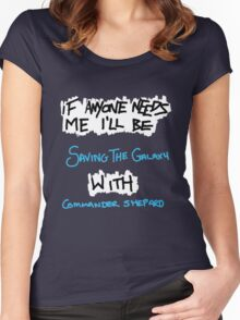 If Anyone Needs Me - Shepard Women's Fitted Scoop T-Shirt