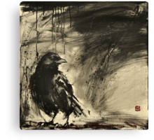 black rain  Canvas Print
