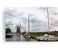 Horsey Mill Canvas Print