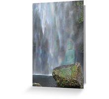 Meditation Rock Greeting Card