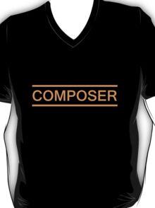 Composer Orange T-Shirt