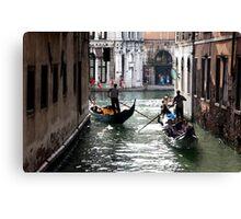 Left Turn - Venice  Canvas Print