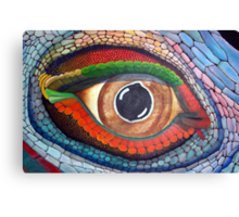 Lizard's Eye Canvas Print
