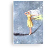 Rope Walker Canvas Print