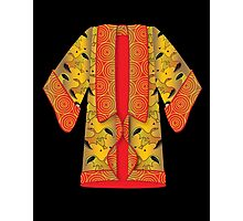 Red Kimono Photographic Print