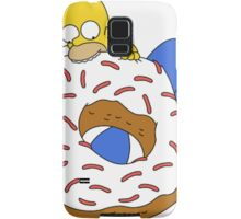 Homer With Donut Samsung Galaxy Case/Skin