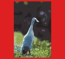 """Ducks - Canards Duck """" said Indian ! 2 """"   04 paint - Peinture (c)(h) by Olao-Olavia / Okaio Créations  canon eos 5 300 mm f/2.8  Baby Tee"""