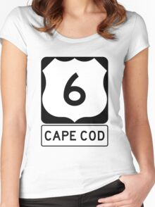US 6 - Cape Cod Massachusetts Women's Fitted Scoop T-Shirt